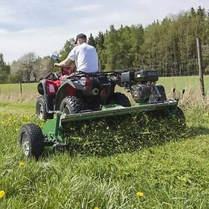 Cloveragri AT120A Open Bonnet Mulcher Mower-Free Spare Set Blades