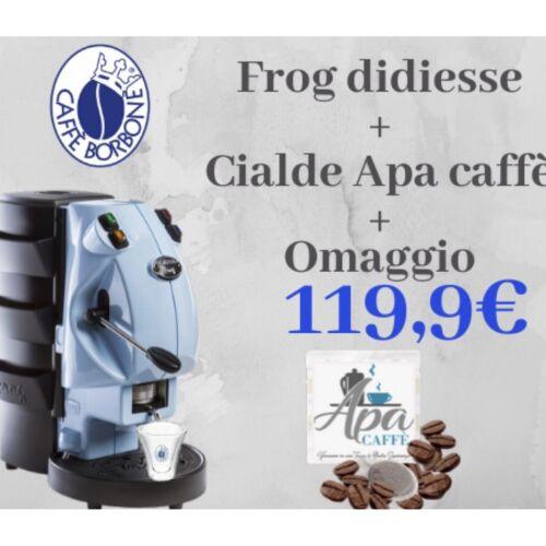Didiesse Frog Revolution Macchina da Caffe' In Cialde Scegli Il Tuo Colore