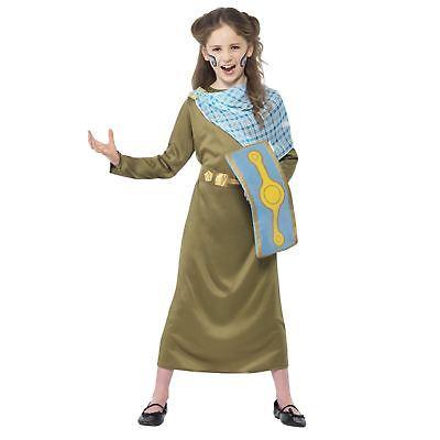 Mädchen Schreckliche Geschichten Boudicca Britisch Keltisch Römisch Queen - Römisch Keltischen Kostüm