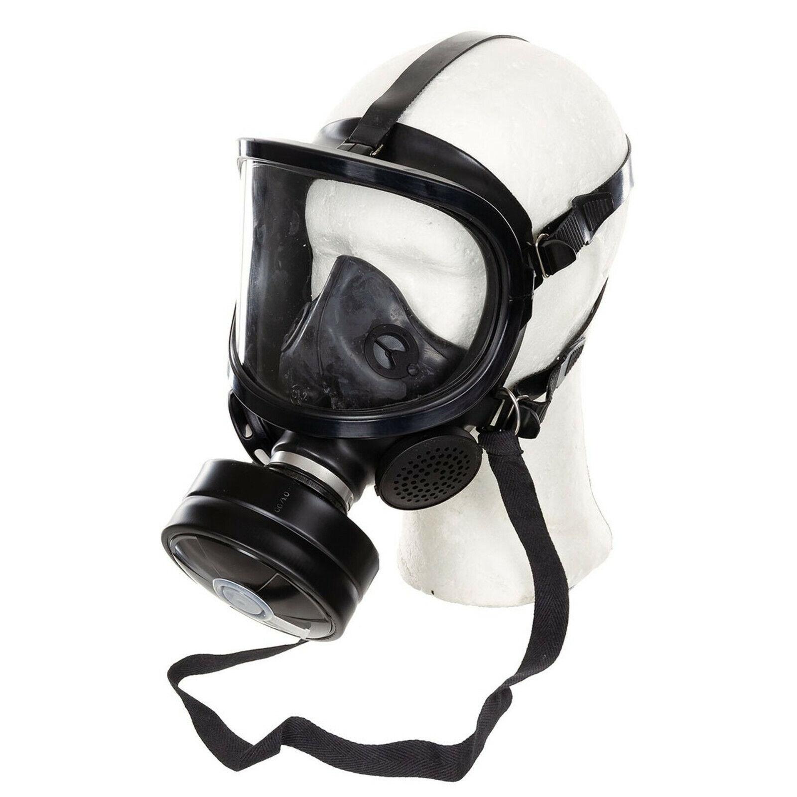 Armee Atemschutz ABC Gasmaske Schutzmaske FERNEZ neuw. Filter Vollgesichtsmaske
