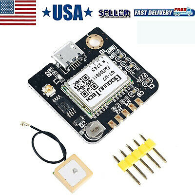 Gps Module Neo-6m Compatible With For 51 Microcontroller Stm32 Arduino Uno R3 Us