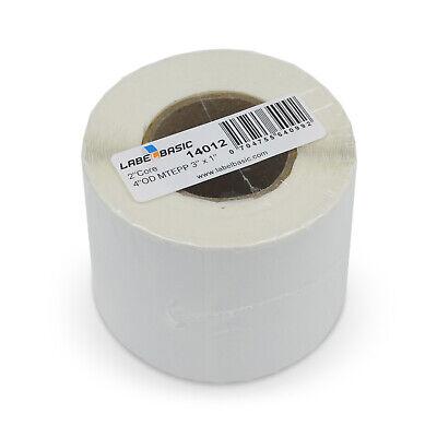 Labels For Primera Lx500 Printer 3 X 1 1100 Matte Polypropylene Labels Per ...