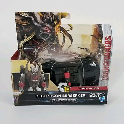 Transformers The Last Knight Turbo Charger Decepticon Berserker Action Figure , used for sale  Shipping to India
