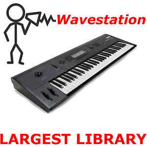 Korg Wavestation EX SR AD  10,000+ Sounds Programs Patches Largest Library