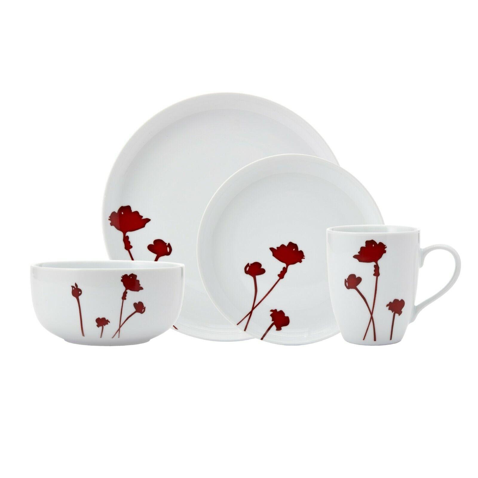 Scarlet Dining Dinnerware set for 4