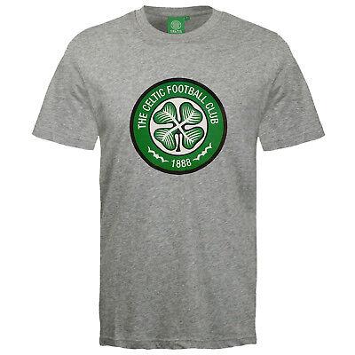 Celtic Football Shirts - Celtic Football Club Official Soccer Gift Mens Crest T-Shirt