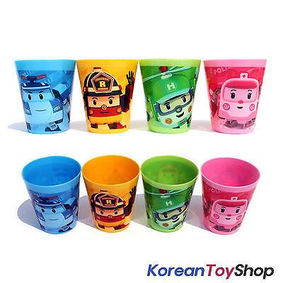 Robocar Poli Plastic Cup 4 pcs Set (4 Colors)