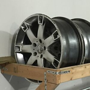 4 FAST 18in aloy Rims 114.3 multi fit