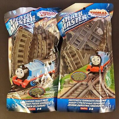Thomas TrackMaster Track Packs, Motorized Railway - Curved, Switches & Turnouts