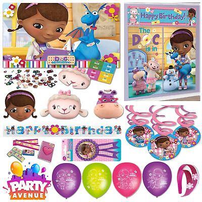 Doc Mcstuffin Decorations (Doc McStuffins Party Tableware Decorations Balloons)