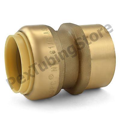 10 1 Sharkbite Style Push-fit X 1 Fnpt Lead-free Brass Fnpt Adapters