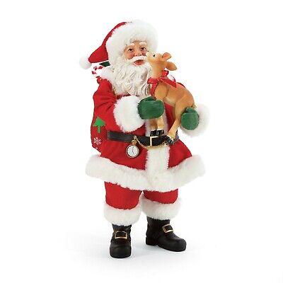 [Dept 56 NEW 2020 Possible Dreams Santa Claus My Deer 6005277</Title]