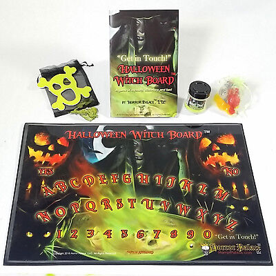 Ouija Board Outdone! New Halloween Witch Board (TM) - Spirit Board Get In Touch!](Halloween A Novel)
