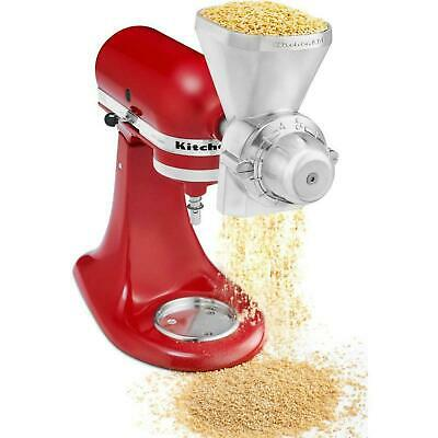KitchenAid KGM Metal Grain Mill ATTACHMENT Wheat Corn Oats Grinder