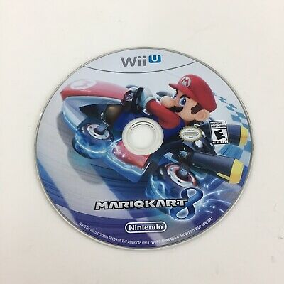 Nintendo Mario Kart 8 Wii U Disc Only Untested