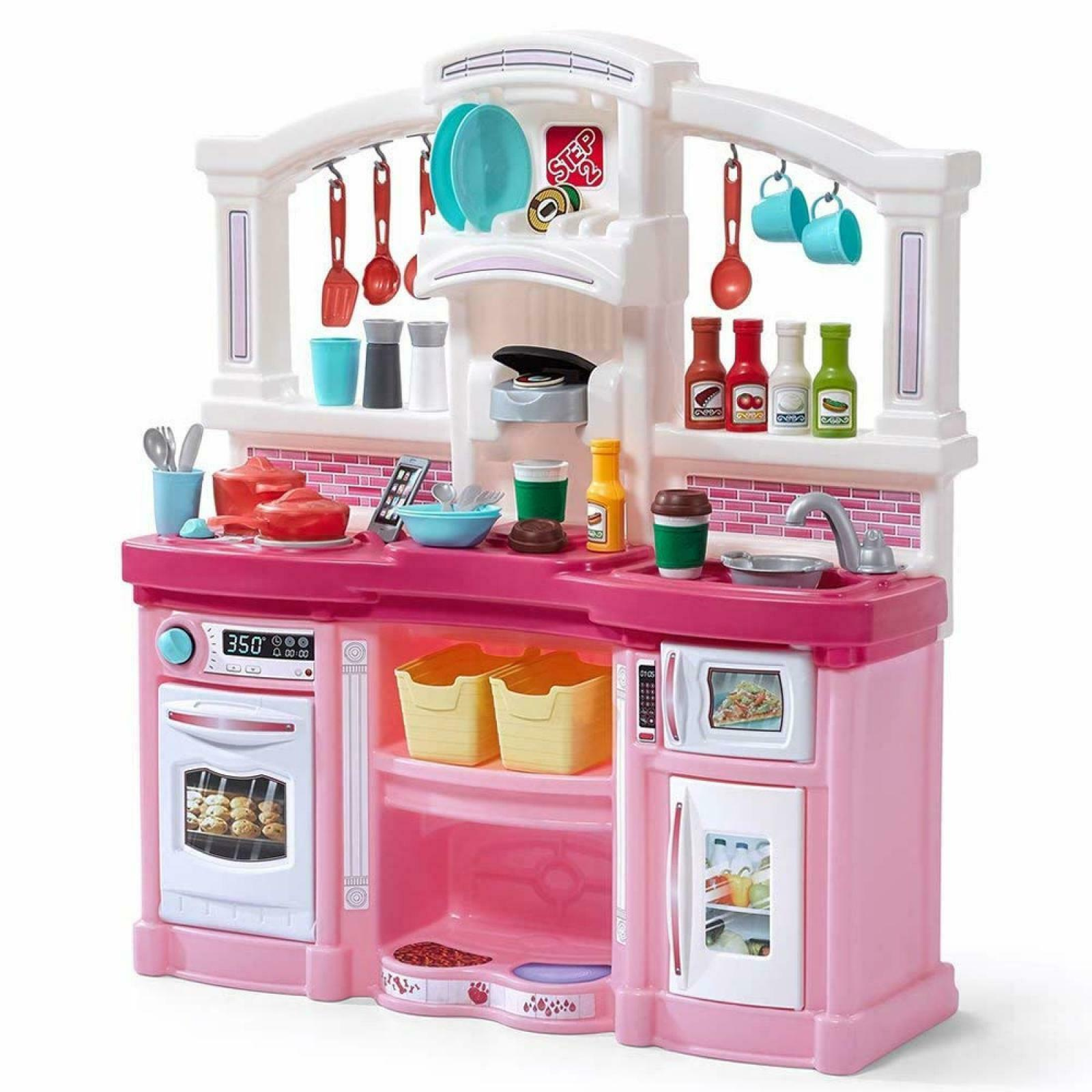 Kids Girls Boys Toddlers Kitchen Fun Pretend Play Battery Operated