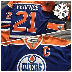 Oilers jersey ++