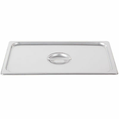 10 PACK FULL Size PAN LID Stainless Steel Steam Prep Table Chafing Dish Cover