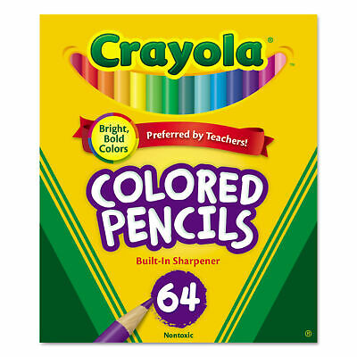Crayola PENCIL,SHORT,64/ST,AST