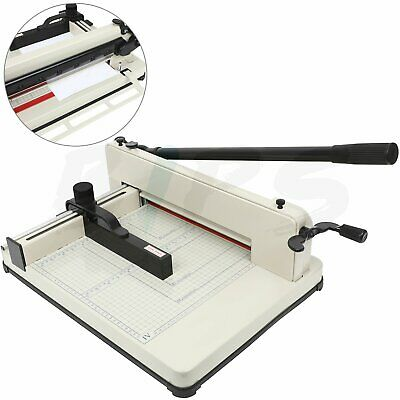 Paper Cutter 12 Guillotine Page Trimmer Blade Scrap Metal Base