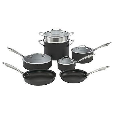 Cuisinart DSA-11 Hard Anodized 11-Piece cookware set, BRAND NEW in BOX