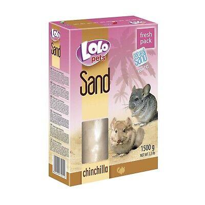 Lecho arena 1,5 kg limpieza higiene para roedores hamsters chinchillas