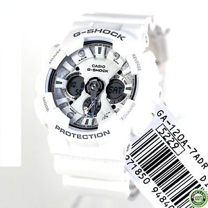 Casio Men G SHOCK 200M Sport Watch NEW +Warranty GA120A GA-120A-7A