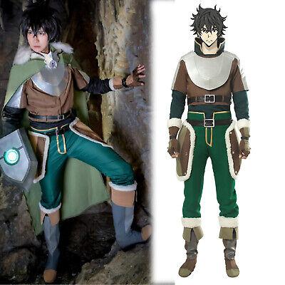 The Rising of the Shield Naofumi Iwatani Cosplay Costume Cloak Men Full set (The Shield Costume)
