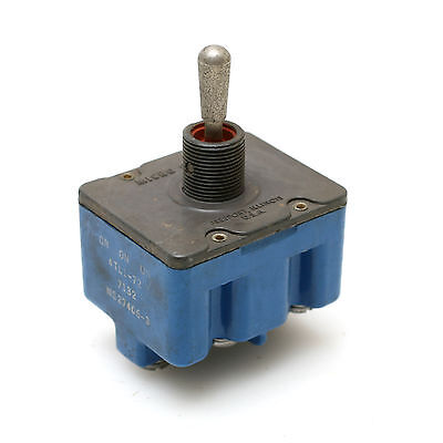 Microswitch 4tl1-72 On-on-on Momentary 3-position Toggle Switch 4-pole