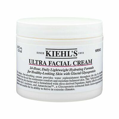 Kiehl's Ultra Facial Cream 24 Hydrating Face Cream LARGE 125ml ++New++