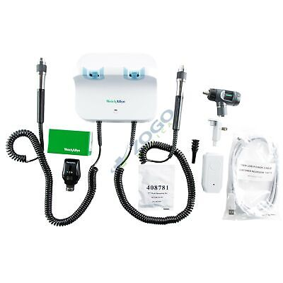 Welch Allyn 77710-71m Wall Transformer With Otoscope Opthalmoscope