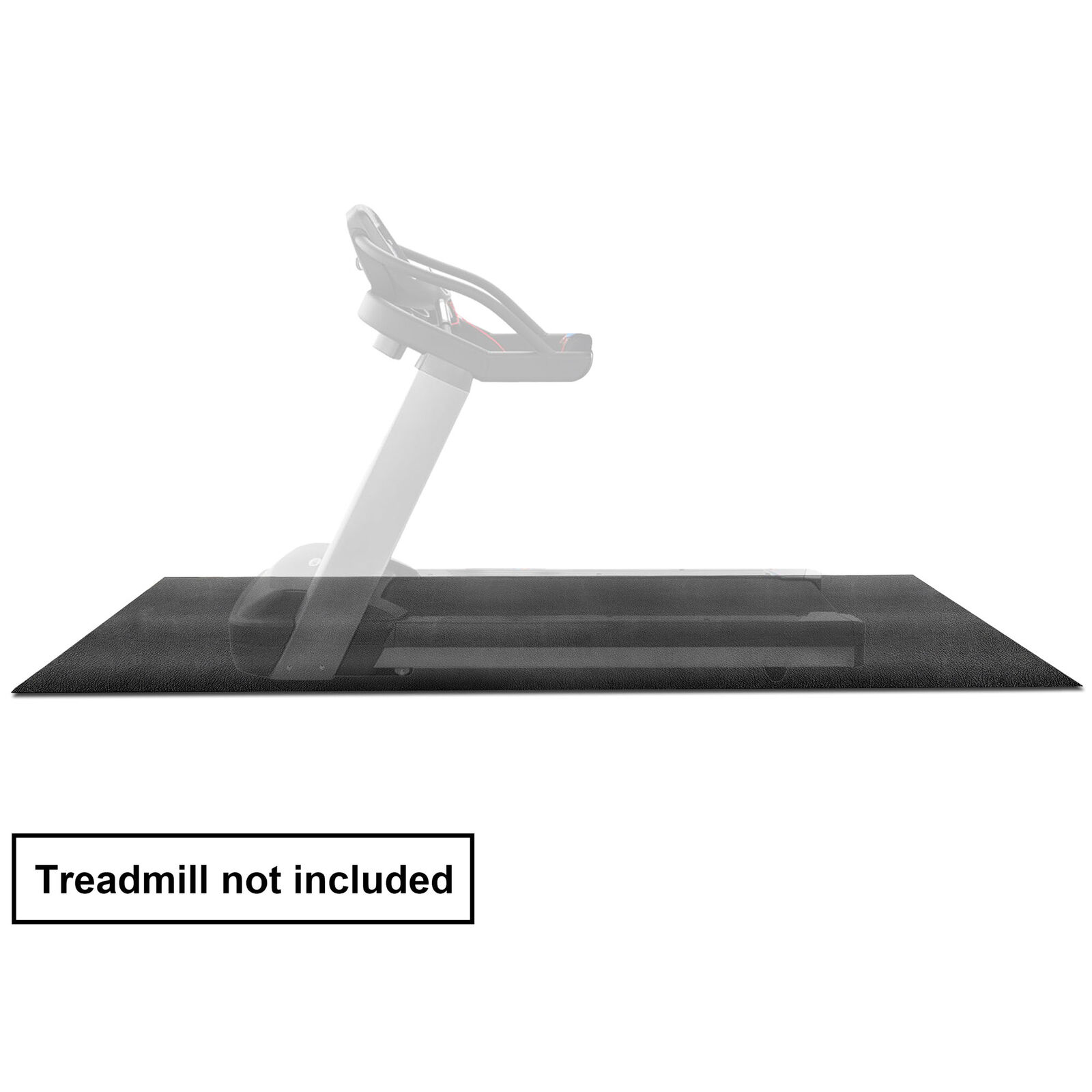 Fitness Equipment Mat and Floor Protector for Treadmills Exercise Bikes 3 x 8FT Cardio Equipment