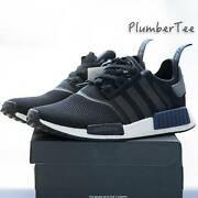 US 10 | 12.5 Brand New Adidas Original NMD R1 Black | Blue Melbourne CBD Melbourne City Preview