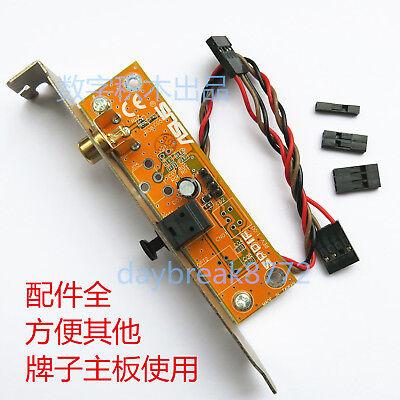 как выглядит Кабель или коннектор для ноутбука и ПК SPDIF RCA Out Motherboard Cable Bracket Plate Cable Bracket for ASUS MSI ECS фото