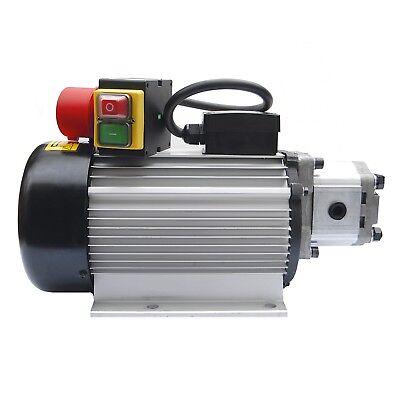 Hydraulikaggregat 400V 3,5kW Motor mit Pumpe 200bar z.B. für Holzspalter NEUTEIL