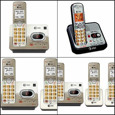 Handset Expandable Cordless Phone Answering System XL Backlis Keys LCD Caller ID Expandable Cordless Phone System