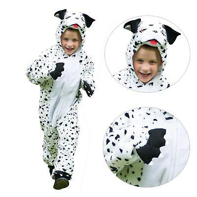 Baby Kleinkind Dalmatiner Welpe Plüsch Reißverschluss Overall Strampler