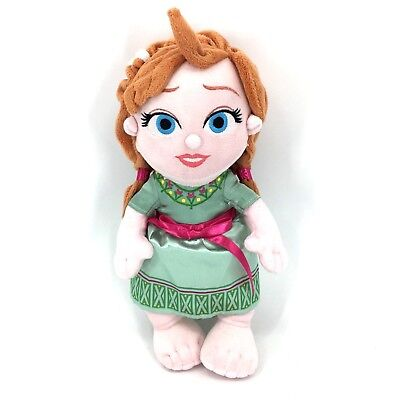 Disney Babies Anna Princess Plush Doll Frozen Disney Parks Authentic Disney's