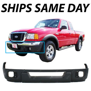 NEW Textured - Black Lower Front Bumper Fascia for 2004 2005 Ford Ranger XL XLT