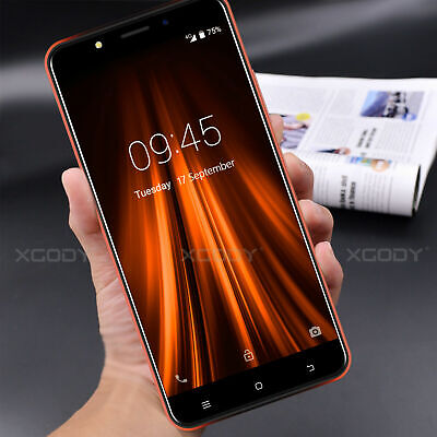 """Android Phone - Cheap 16GB 4G 5.5"""" Smartphone Android Unlocked Dual SIM Mobile Phone Quad Core"""