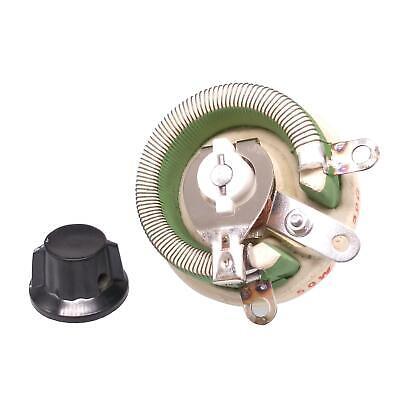 50w 50 Ohm High Power Wirewound Potentiometer Rheostat Variable Resistor