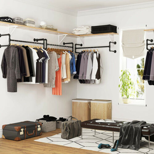 Metal Commercial Clothes Racks for Hanging Clothes Vintage R