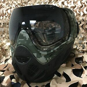 NEW Sly Profit Thermal Anti-Fog Paintball Mask Goggle Series - Camo
