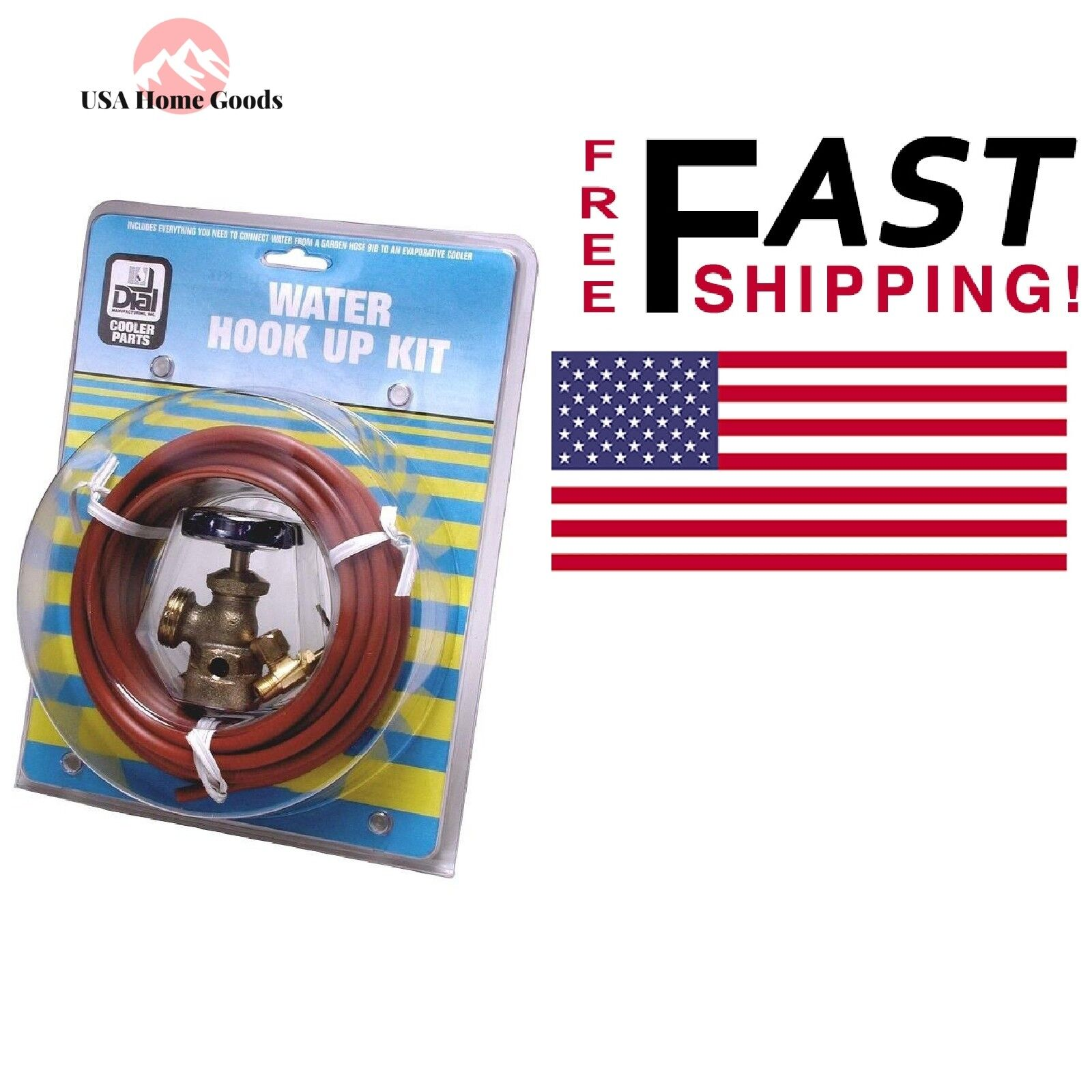 Dial Manufacturing Inc Plastic Hook Up Kit 4479