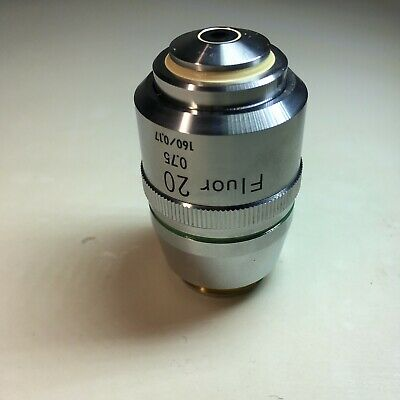 Nikon Fluor 20 X 0.75 1600.17 Microscope Objective