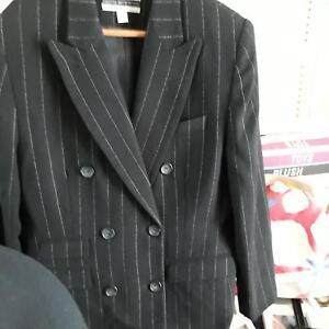 Black w/ White Pin Stripe 100% Wool Suit Upper Kedron Brisbane North West Preview