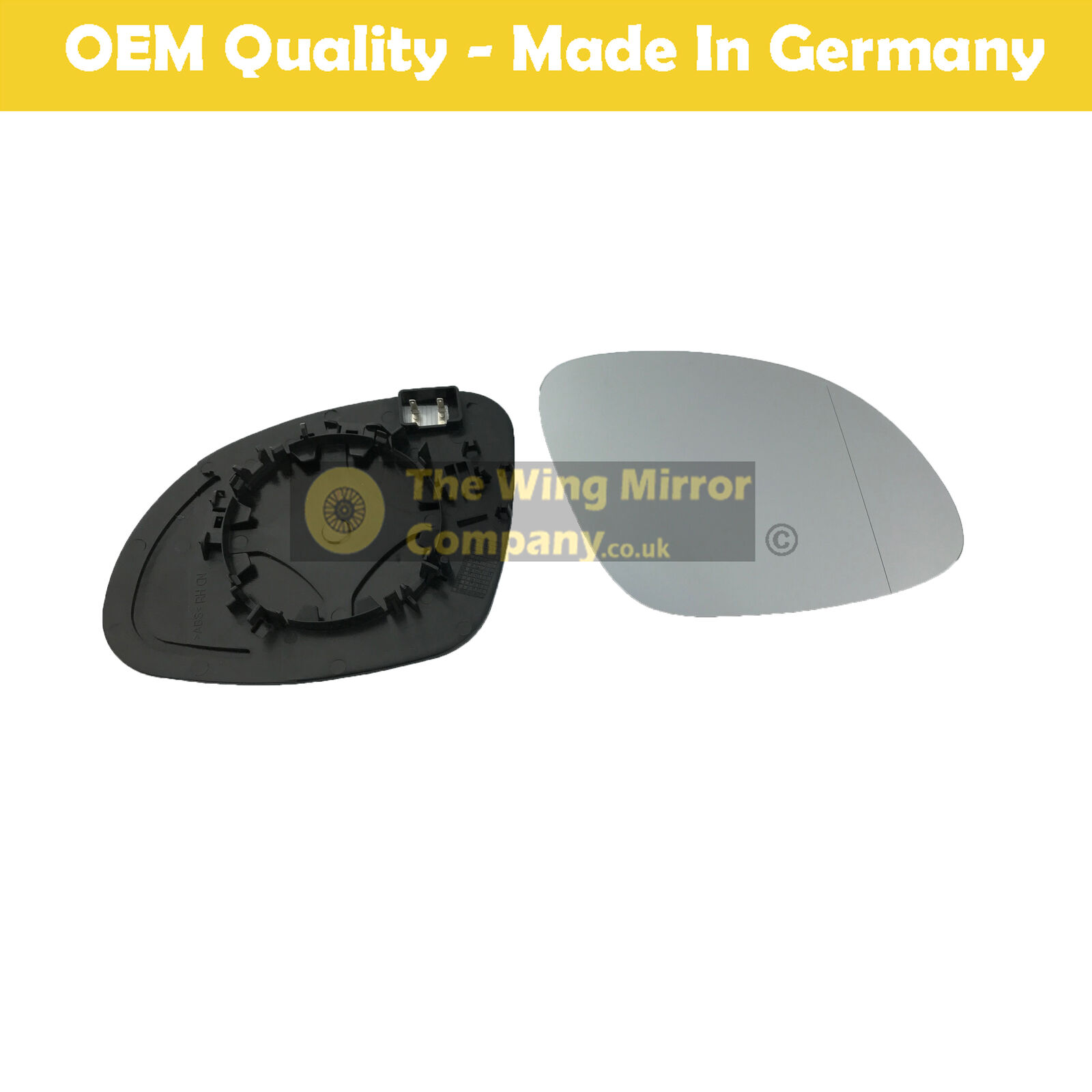 2012 to 2017 Right Hand side Peugeot Partner Wing Mirror Glass