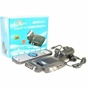 Digital TV Tuner DVB-T HDMI & SCART FREEVIEW Receiver