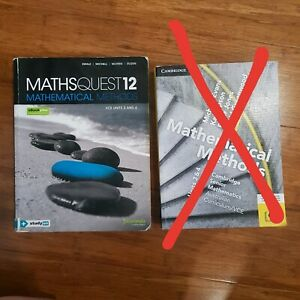 VCE Mathematical Methods Unit 3&4