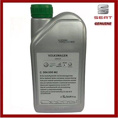 Genuine SEAT /Audi / VW / Skoda Green Power Steering PAS Fluid Oil 1L